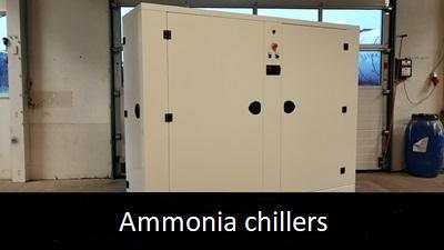 Ammonia chillers